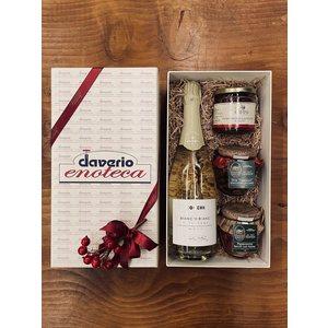 BOX APERITIVO Alta Langa Cocchi + Selezione Prodotti Campisi e Frantoio di Sant'Agata di Oneglia