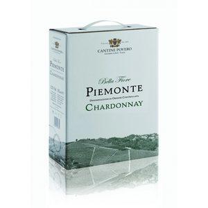Bellafiore Piemonte DOC Chardonnay 2019 Bag-in-box Cantine Povero 3 l