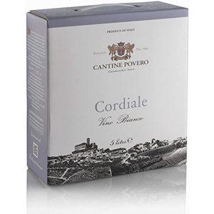 Cordiale Vino Bianco da Uve Cortese Bag-in-box 5 litri Cantine Povero