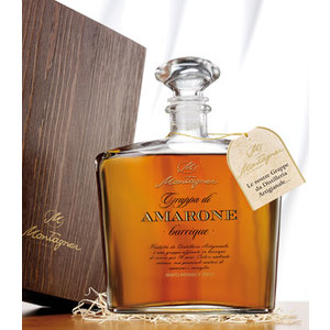 Grappa di Amarone Barrique Invecchiata Distilleria Montagner