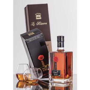 Filippo I Gran Riserva Brandy Italiano Invecchiato 25 anni Distilleria Giori