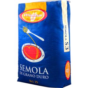 Semola di grano duro - S3 - Sacco kg. 25
