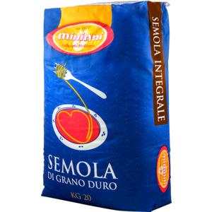 Semola Integrale di grano duro - SI - Sacco kg. 20