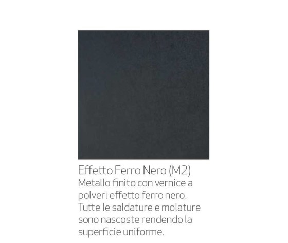 Fetto nero m2 nature design
