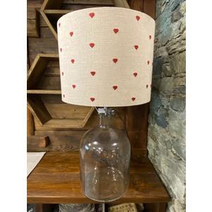Lampada in vetro