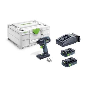 Festool  Trapano avvitatore a impulsi a batteria TID 18 HPC 4,0 I-Plus