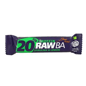 Barretta Proteica Spirulina e Limone - 20 % Protein Rawba