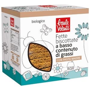 Fette biscottate a basso contenuto di grassi