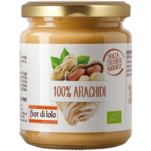 Crema 100% di arachidi tostate FIOR DI LOTO