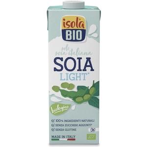 Bevanda di soia light Isola Bio