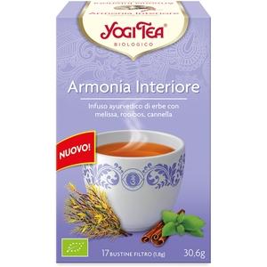 Tisana ayurvedica Armonia Interiore con melissa e roiboos Yogi Tea 30,6 g