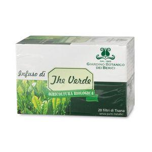 Infuso di tè verde bio Giardino Botanico dei Berici