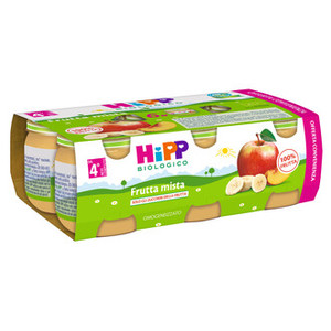 Hipp Omogeneizzato Frutta Mista Multipack 6X80G