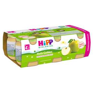 HIPP OMOGENEIZZATO MELA GOLDEN MULTIPACK 6X80G
