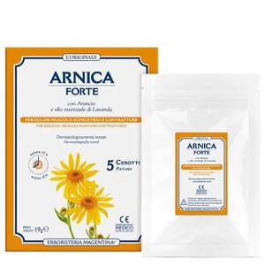 Cerotti Arnica Forte con Arancio e olio essenziale di Lavanda 5pz
