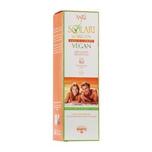 Najtu Solari Di Argan Emulsione Protettiva Spray Vegan Spf50 Per Viso E Corpo 125Ml