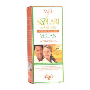 Najtù Solari Vegan SPF 30 Crema Viso Antimacchia 50ml
