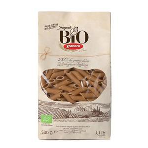 Mezze Penne Rigate Integrali di grano duro Bio Granoro 500g