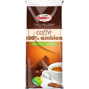 Caffè 100% Arabica per moka CAFFè SALOMONI 250 g