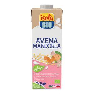 Bevanda vegetale avena e mandorla Isola Bio 1 L