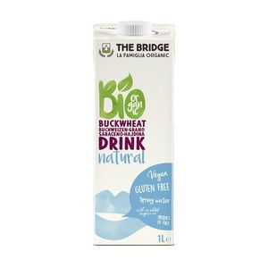 Bio Drink grano saraceno e riso Natural The Bridge 1 L