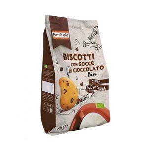 Biscotti con gocce di cioccolato Fior di Loto 350 g