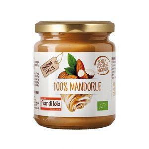 Crema spalmabile 100% mandorle tostate Fior di Loto 200 g