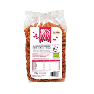 Fusilli di lenticchie rosse Fior di Loto 250 g