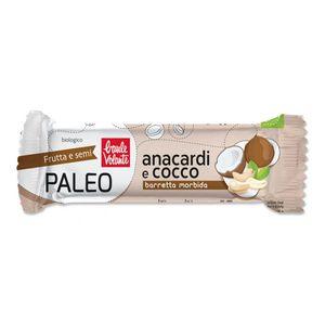 Barretta morbida Paleo anacardi e cocco Baule Volante 30 g