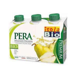 Succo e polpa di pera Premium Isola Bio 3 x 200 ml