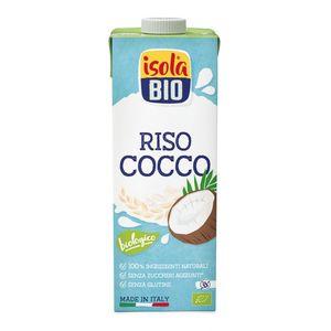 Bevanda vegetale di riso e cocco Isola Bio 1 L
