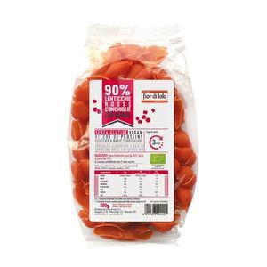 Conchiglie di lenticchie rosse con quinoa senza glutine Fior di Loto 200 g