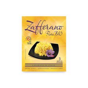 Zafferano in polvere 3 bustine Fiore Bio 3 x 0,13 g