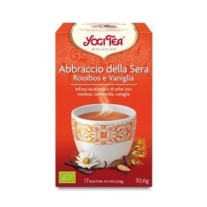 """Tisana """"Abbraccio della Sera"""" rooibos camomilla e vaniglia Yogi Tea 30,6 g - 17 flt"""