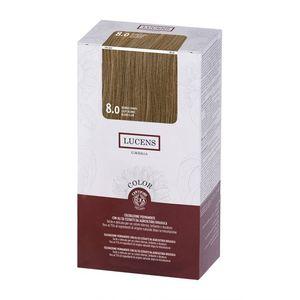 Tinta per capelli Color 8.0 biondo chiaro Lucens Umbria 135 ml