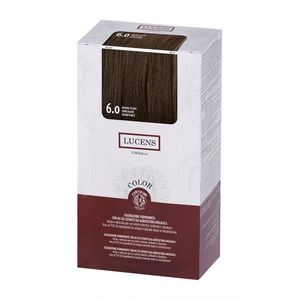 Tinta per capelli Color 6.0 biondo scuro Lucens Umbria 125 ml