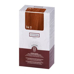 Tinta per capelli Color 7.4 ramato Lucens Umbria 135 ml