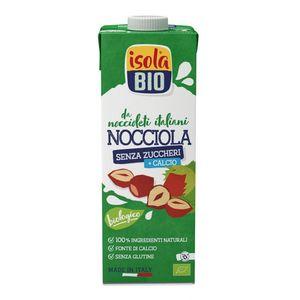 Bevanda vegetale di nocciola italiana Isola Bio 1 L
