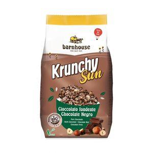 Krunchy sun - cioccolato fondente & nocciole Muesli granola Barnhouse 375 g