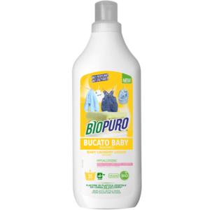 Detersivo concentrato per bucato baby (25 lavaggi) 1L  Biopuro