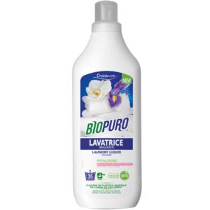 Detersivo concentrato per lavatrice (25 lavaggi) Biopuro 1L