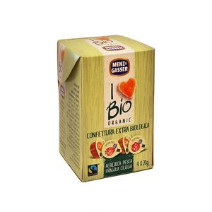 Confettura extra monodose assortita Menz & Gasser 4 x 20 g