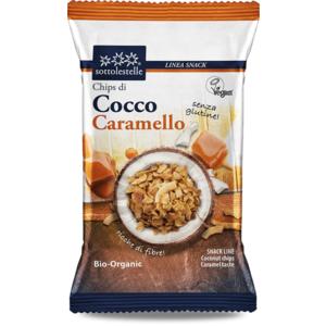 Chips di cocco gusto caramello Sotto le stelle 30g
