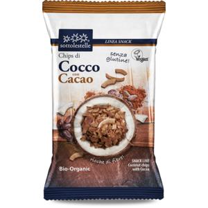 Chips di cocco con cacao Sotto le stelle 30g