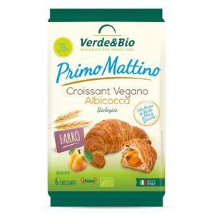 Croissant vegano di farro con albicocca Primo Mattino Verde & Bio 300 g Scadenza 27/11/2021
