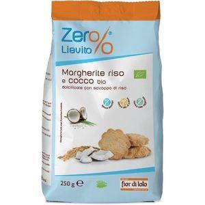 Margherite riso e cocco 250 g Zer%lievito