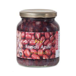 Fagioli azuki rossi al naturale Machandel 350 g - 230 g sgocc.