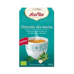 Infuso Chlorella alla menta Yogi Tea 34 g