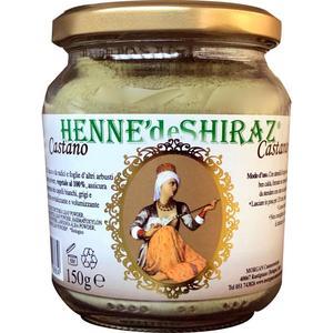 Hennè colorante per capelli - Castano Hennè de Shiraz 150g