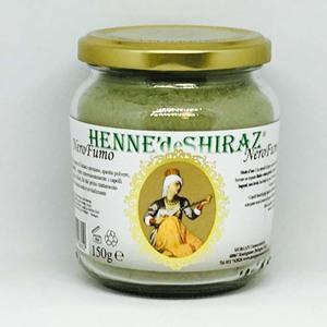 Hennè colorante per capelli - Nero Fumo Hennè de Shiraz 150g